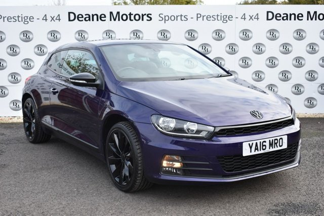 2016 16 VOLKSWAGEN SCIROCCO 1.4 GT TSI BLUEMOTION TECHNOLOGY 2d 123 BHP GREAT COLOUR