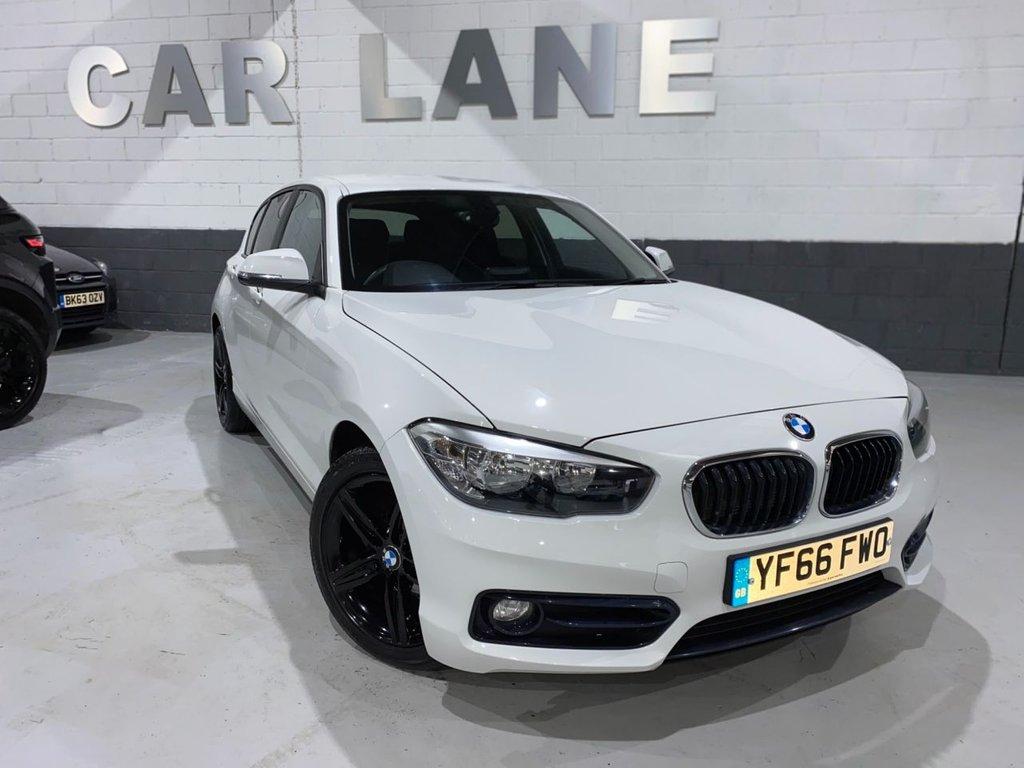 USED 2016 66 BMW 1 SERIES 1.5 118I SPORT 5d 134 BHP