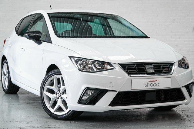 2018 18 SEAT IBIZA 1.0 TSI FR 5d 94 BHP