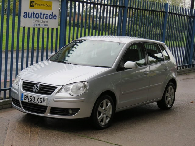 USED 2009 59 VOLKSWAGEN POLO 1.2 MATCH 5d 68 BHP ULEZ COMPLIANT, AIR CON, ALLOYS, REAR PARKING SENSORS REAR PARKING SENSORS, C/D RADIO, FRONT FOG LIGHTS, AIR CONDITIONING, FRONT FOG LIGHTS,