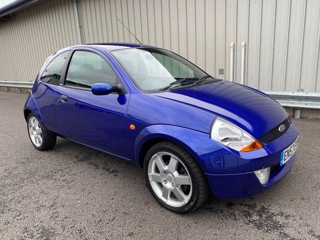 2008 57 FORD KA 1.6 SPORTKA SE LEATHER 3d 95 BHP