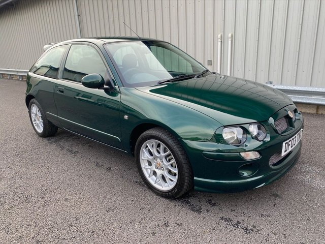 2003 03 MG ZR 1.4 105 3d 102 BHP WITH JUST 4K MILES