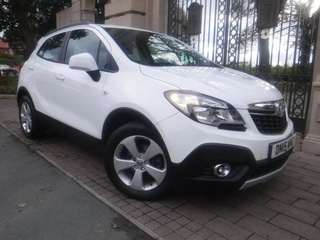 USED 2015 15 VAUXHALL MOKKA 1.6 EXCLUSIV CDTI ECOFLEX S/S 5d 134 BHP *** FINANCE & PART EXCHANGE WELCOME *** £ 20 A YEAR ROAD TAX BLUETOOTH PHONE  AIR/CON CRUISE CONTROL PARKING SENSORS