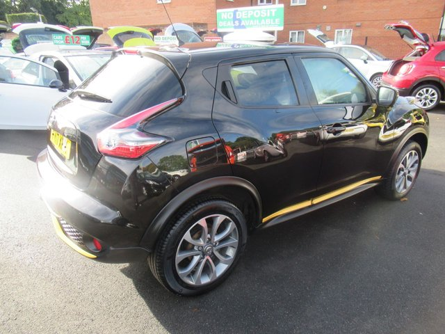 USED 2017 17 NISSAN JUKE 1.6 TEKNA XTRONIC 5d 117 BHP **  JUST ARRIVED ** FULL SERVICE HISTORY **