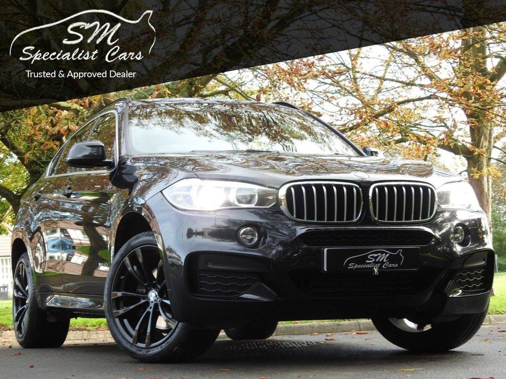 USED 2017 17 BMW X6 3.0 XDRIVE40D M SPORT 4d 309 BHP HUGE SPEC 40D SAT NAV LEATHER DIGITAL DASH