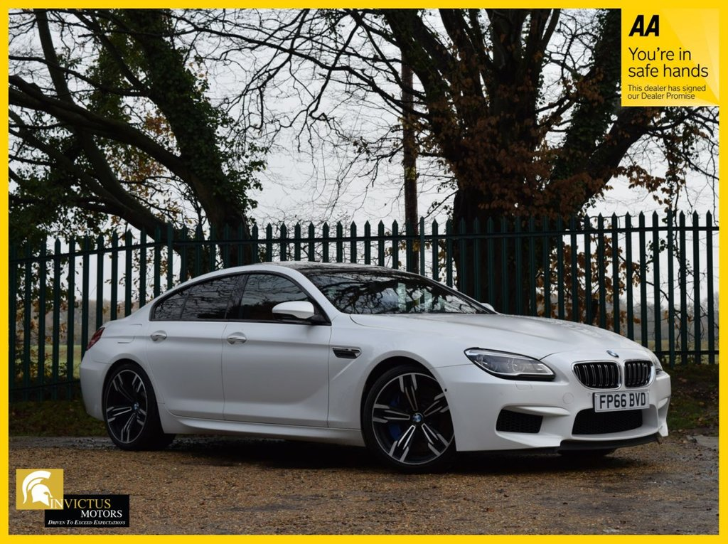 USED 2016 66 BMW M6 4.4 M6 GRAN COUPE 4d 567 BHP