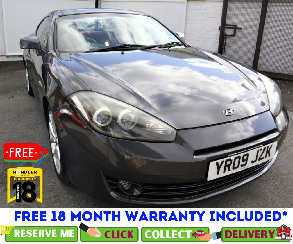 USED 2009 09 HYUNDAI COUPE 2.0 SIII 3d 141 BHP *CLICK & COLLECT OR DELIVERY