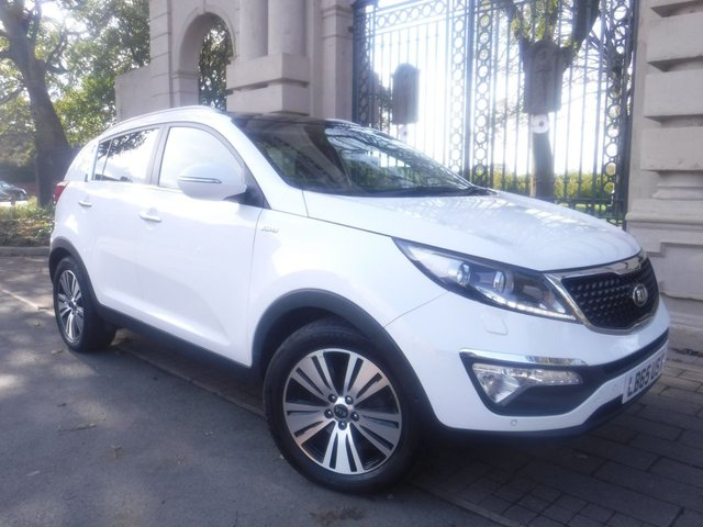 USED 2016 65 KIA SPORTAGE 2.0 CRDI KX-4 5d 181 BHP FINANCE ARRANGED**PART EXCHANGE WELCOME**PANORAMIC ROOF**FULL LEATHER**4WD**REVERSING CAMERA**SAT NAV**CRUISE