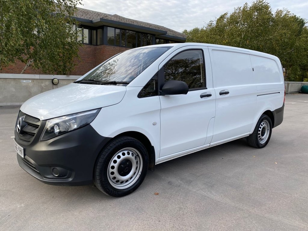 USED 2016 66 MERCEDES-BENZ VITO 11602.1BLUETEC AUTOMATIC EURO 6 163ps LWB AUJTOMATIC-2xSLD-E/PACK-EURO 6