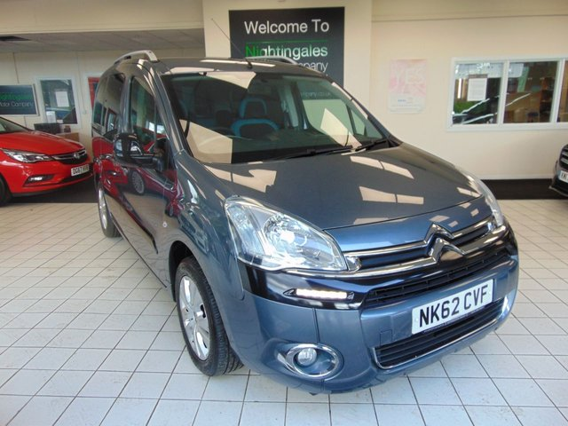 """USED 2012 62 CITROEN BERLINGO MULTISPACE 1.6 HDI PLUS 5d 91 BHP THIS ALWAYS POPULAR CITROEN BERLINGO 1.6 TD MULTI SPACE PLUS COMES WITH FULL SERVICE HISTORY + MAY 2021 MOT + RADIO/CD PLAYER + DRIVERS SEAT HEIGHT ADJUSTMENT + ELECTRIC WINDOWS + CENTRAL LOCKING + WHEEL CHAIR ACCESS + AIR CONDITIONING + DRIVERS ARMREST + 16"""" ALLOY WHEELS + TWIN SLIDDING DOORS + ABS + DAYTIME RUNNING LIGHTS + FRONT FOG LIGHTS + GREAT MPG"""