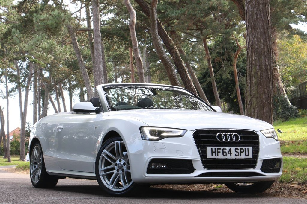 USED 2014 64 AUDI A5 2.0 TDI S LINE SPECIAL EDITION CONVERTIBLE