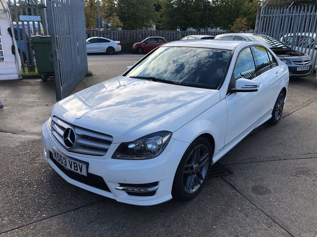 USED 2014 63 MERCEDES-BENZ C-CLASS 1.6 C180 BLUEEFFICIENCY AMG SPORT 4d 154 BHP