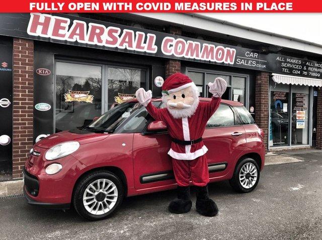 USED 2013 13 FIAT 500L 1.2 MULTIJET LOUNGE 5d 85 BHP
