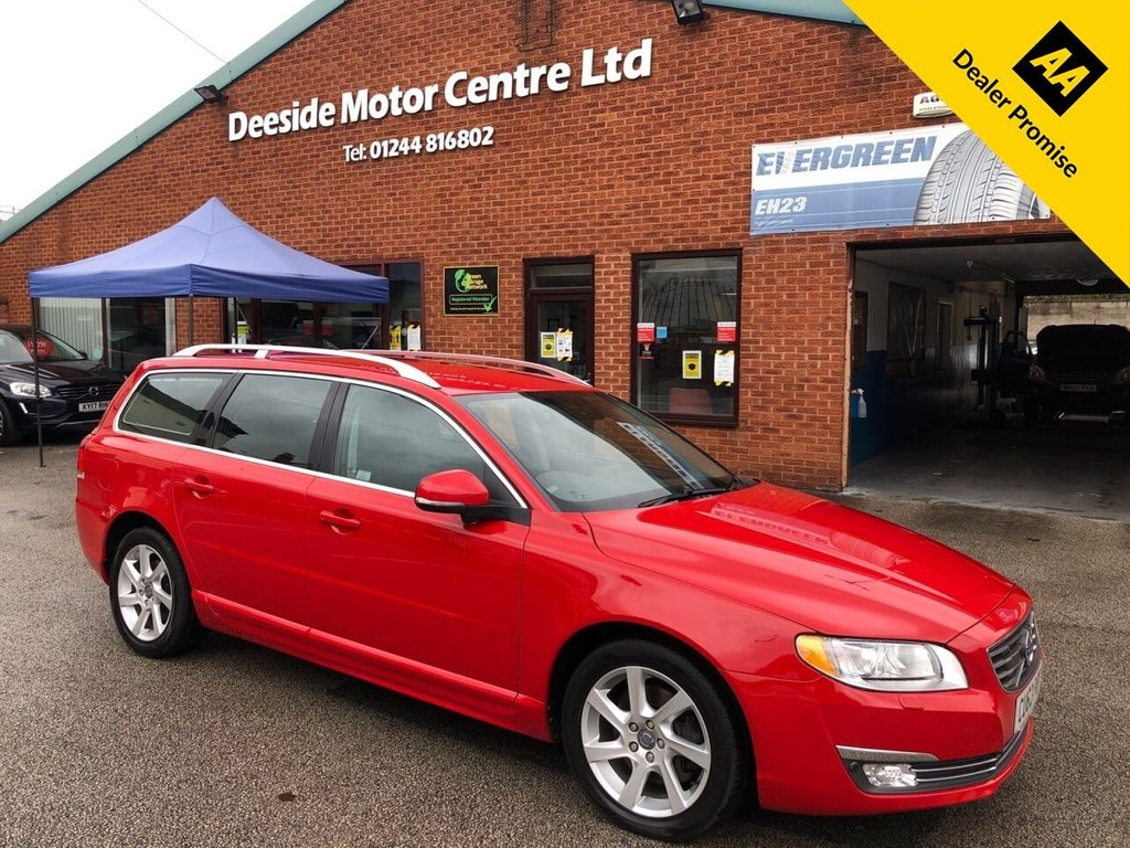 USED 2013 63 VOLVO V70 2.4 D5 SE LUX 5d 212 BHP DRIVER SUPPORT PACK