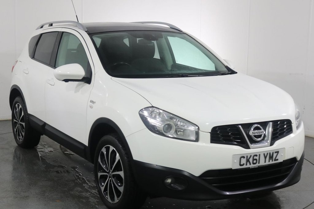 USED 2012 12 NISSAN QASHQAI 1.6 N-TEC PLUS 5d 117 BHP 2 OWNERS with 6 Stamp SERVICE HISTORY