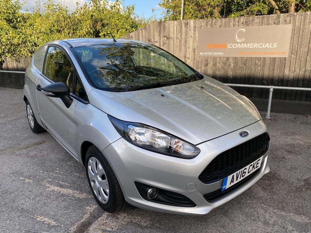 USED 2016 16 FORD FIESTA 1.5 TDCi ECOnetic Panel Van 3dr **AIR CONDITIONING**SENSORS**