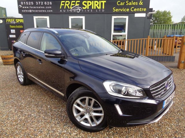 USED 2016 16 VOLVO XC60 2.0 D4 SE Lux Nav Geartronic (s/s) 5dr Heated Mem seats, Winter Pack