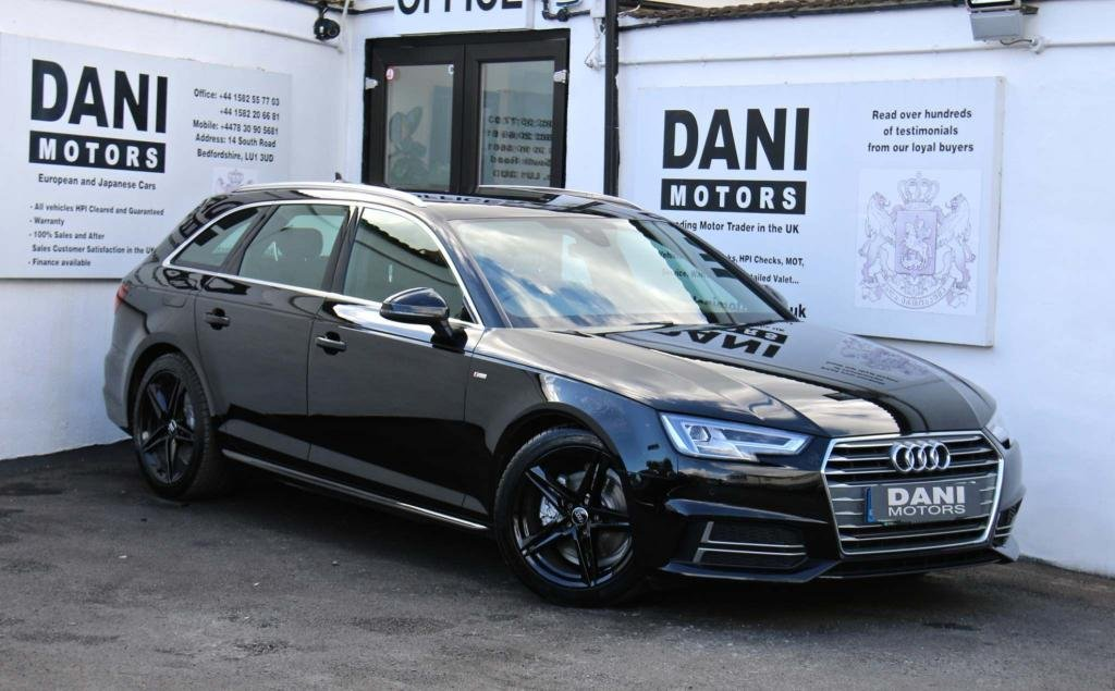 USED 2017 67 AUDI A4 2.0 TDI S line Avant S Tronic (s/s) 5dr 1 OWNER*SATNAV*PARKING AID