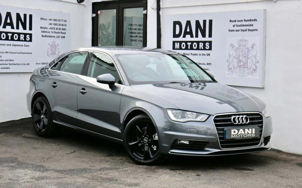 USED 2015 AUDI A3 1.6 TDI Sport S Tronic (s/s) 4dr 1 OWNER*BLUETOOTH*