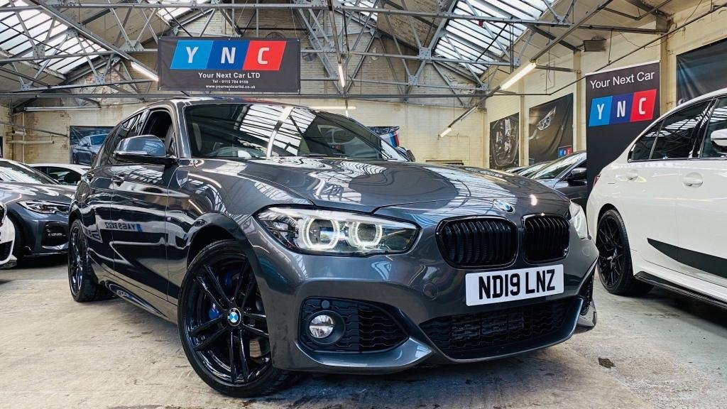 USED 2019 19 BMW 1 SERIES 1.5 118i GPF M Sport Shadow Edition Sports Hatch Auto (s/s) 5dr SHADOWED+SROOF+HTDSTEERINGWL!