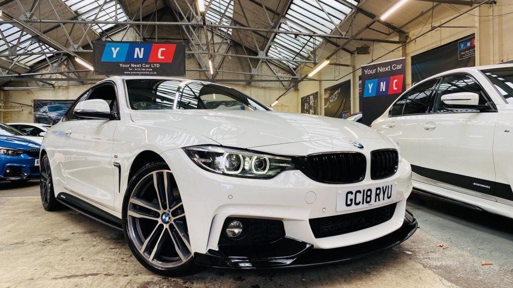 USED 2018 18 BMW 4 SERIES 2.0 420d M Sport Auto (s/s) 2dr PERFORMANCEKIT+19S+FACELIFT!