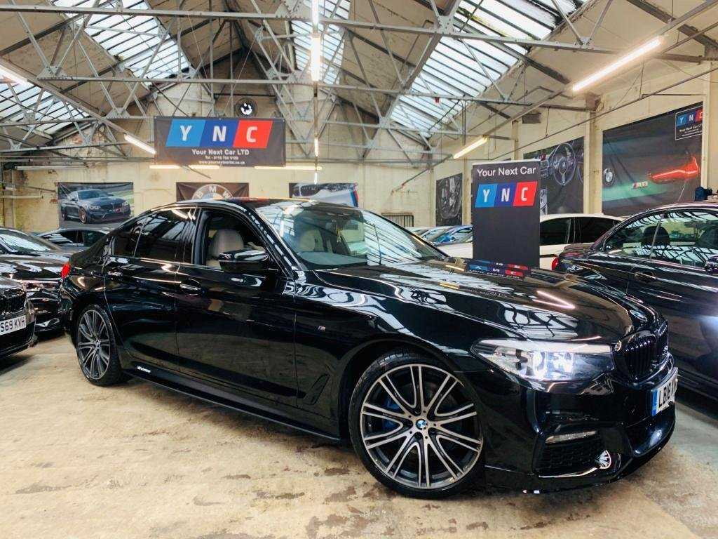 USED 2018 18 BMW 5 SERIES 3.0 530d M Sport Auto (s/s) 4dr PERFORMANCE KIT 20S PLUS PK