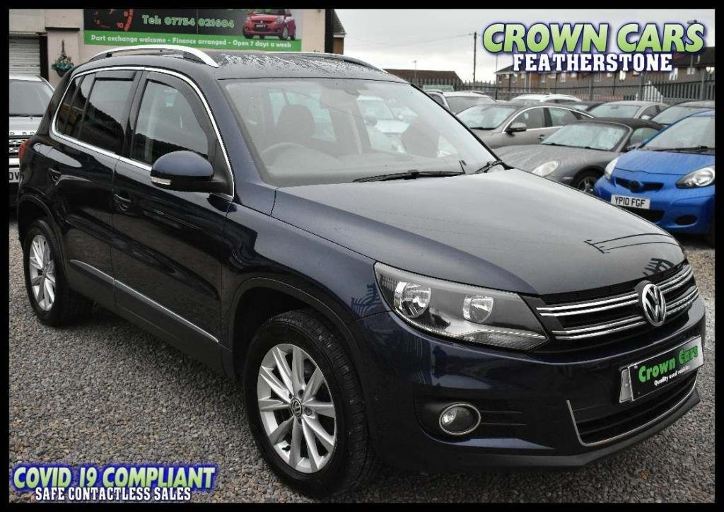 USED 2013 13 VOLKSWAGEN TIGUAN 2.0 TDI BlueMotion Tech SE 4WD (s/s) 5dr AMAZING LOW RATE FINANCE DEALS