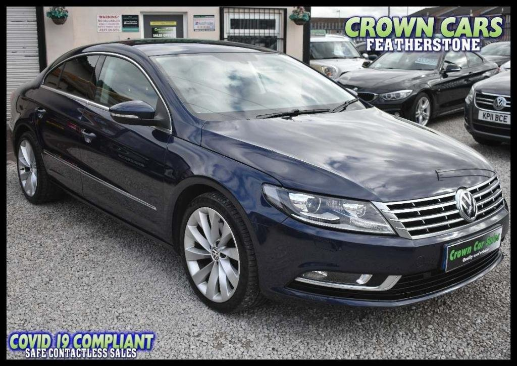 USED 2012 62 VOLKSWAGEN CC 2.0 TDI BlueMotion Tech GT DSG 4dr AMAZING LOW RATE FINANCE DEALS