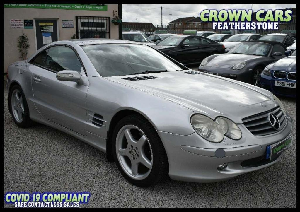 USED 2006 06 MERCEDES-BENZ SL 3.7 SL350 2dr AMAZING LOW RATE FINANCE DEALS