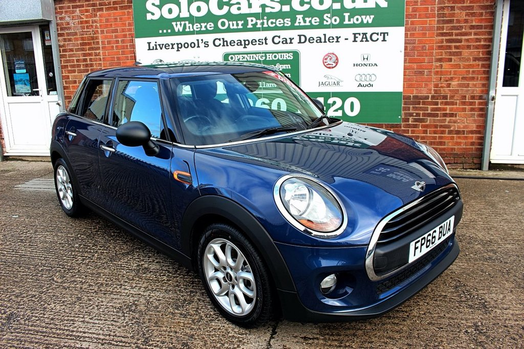 USED 2016 66 MINI HATCH ONE 1.5 ONE D 5d 94 BHP +PEPPER PACK +LOW MILES +DAB.