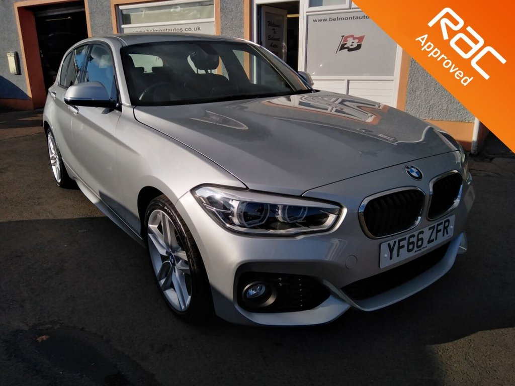 "USED 2016 66 BMW 1 SERIES 1.5 116D M SPORT 5d 114 BHP 17"" Alloys, Parking Sensors, Cruise Control, Sat Nav, Bluetooth, Voice Recognition"