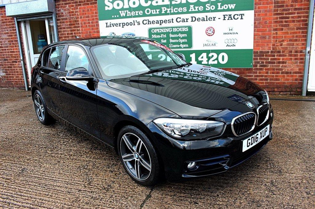 USED 2016 16 BMW 1 SERIES 1.5 116D SPORT 5d 114 BHP +LOW TAX +SERVICED +NAV.