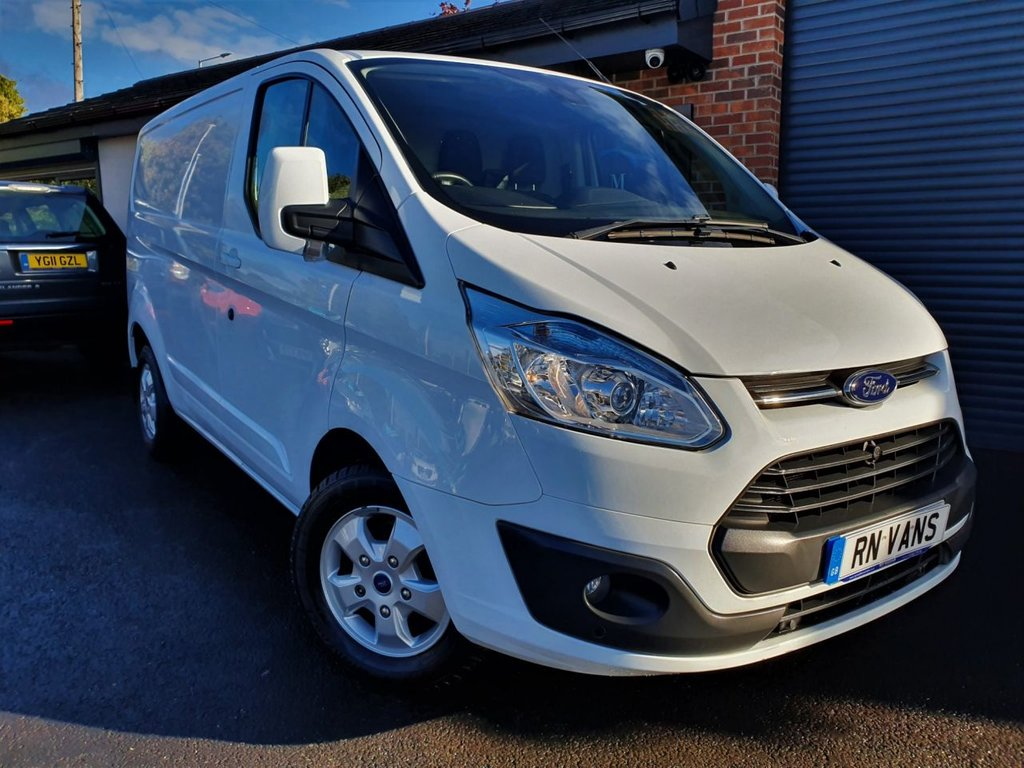 USED 2016 16 FORD TRANSIT CUSTOM 2.2 270 LIMITED L1 H1 P/V 124 BHP *** LIMITED MODEL - GREAT SPEC ***