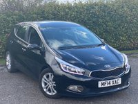USED 2014 14 KIA CEED 1.6 2 ECODYNAMICS CRDI 5d 126 BHP LOW MILEAGE DIESEL FAMILY HATCHBACK