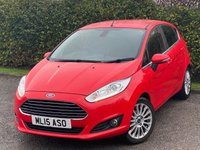 USED 2015 15 FORD FIESTA 1.0 TITANIUM 5d 124 BHP * DAB RADIO * BLUETOOTH CONNECTIVITY *