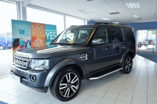2015 65 LAND ROVER DISCOVERY 4 3.0 SDV6 HSE LUXURY 5d 255 BHP REAR DVDS