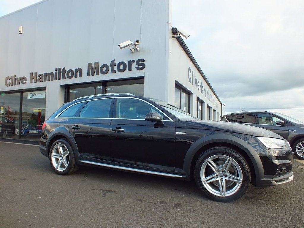 USED 2017 67 AUDI A4 ALLROAD 2.0 ALLROAD TDI QUATTRO 188 BHP LEATHER (SEPTEMBER 2017)