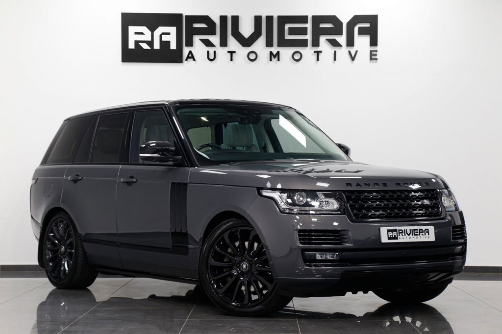 USED 2017 17 LAND ROVER RANGE ROVER 4.4 SDV8 AUTOBIOGRAPHY 5d 339 BHP