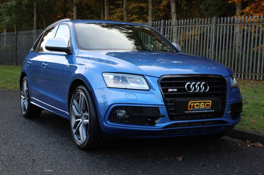 USED 2014 64 AUDI Q5 3.0 SQ5 TDI QUATTRO 5d 309 BHP A STUNNING HIGH SPECIFICATION CAR WITH COMPREHENSIVE SERVICE HISTORY, LOW OWNERS, PAN ROOF, REAR SCREENS!!!