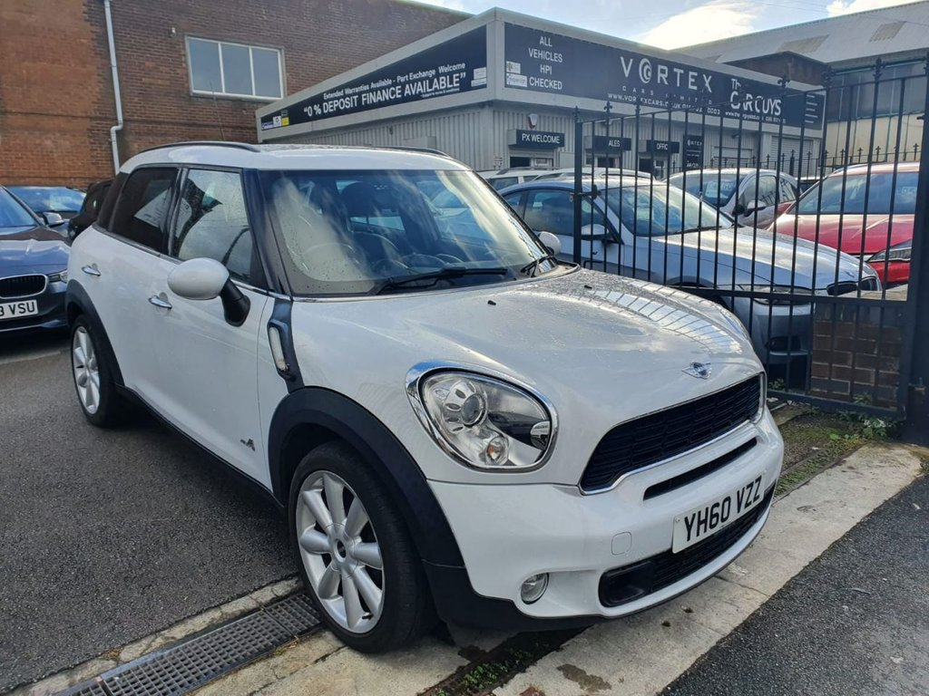 USED 2010 60 MINI COUNTRYMAN 1.6 COOPER S ALL4 5d 184 BHP HEATED LEATHER  + SAT-NAV
