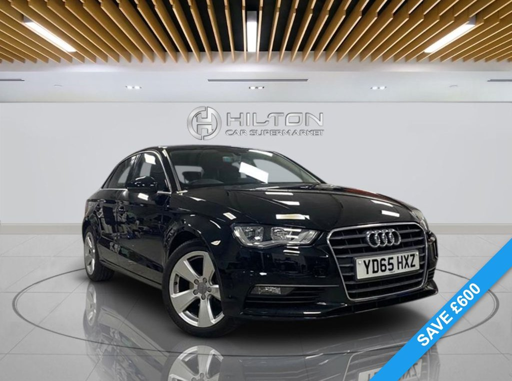 USED 2015 65 AUDI A3 1.6 TDI SPORT 4d 109 BHP Automatic Transmission, Navigation System, Alloy Wheels, Smartphone Interface, Parking Sensor(s), Climate Control