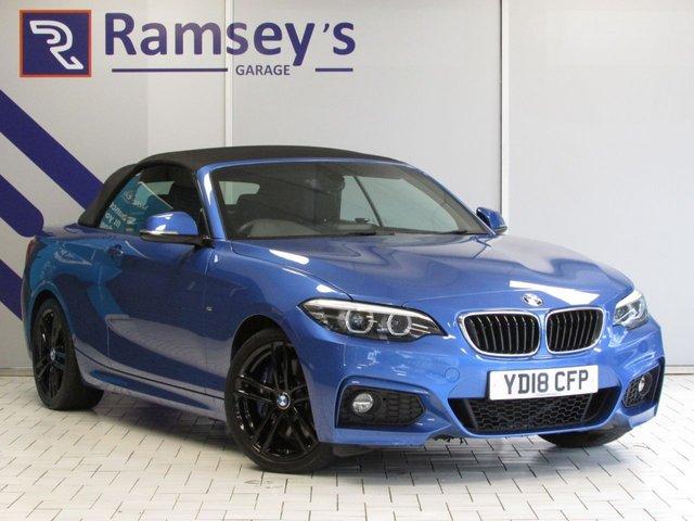 USED 2018 18 BMW 2 SERIES 2.0 220I M SPORT 2d 181 BHP