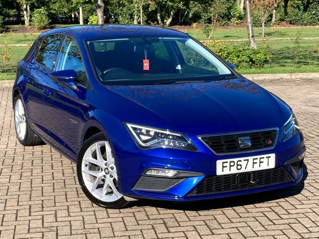 USED 2017 67 SEAT LEON 1.4 TSI FR TECHNOLOGY 5d 124 BHP
