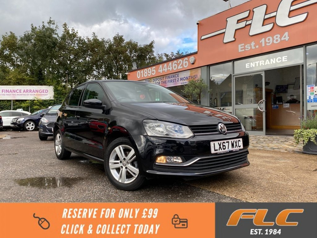 USED 2017 67 VOLKSWAGEN POLO 1.2 MATCH EDITION TSI DSG 5d 89 BHP