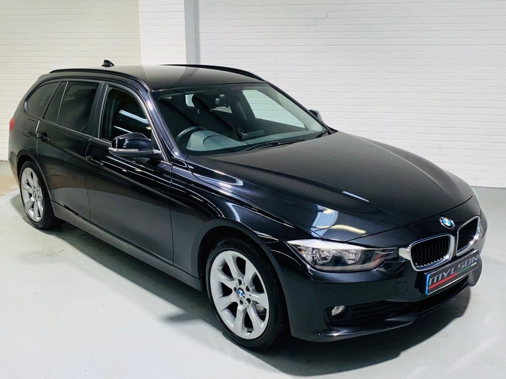 USED 2014 14 BMW 3 SERIES 2.0 320D XDRIVE SE TOURING 5d 181 BHP XDrive 4x4 Model, Black Leather Interior, Heated Seats, Privacy Glass, Full Service History