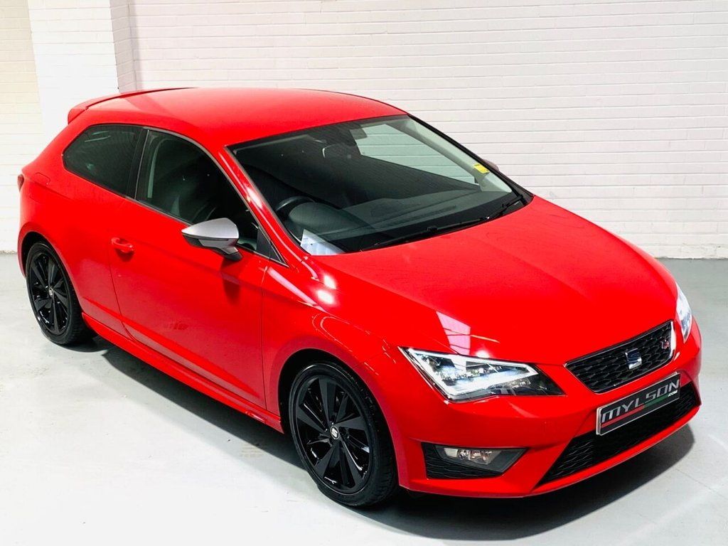 USED 2017 17 SEAT LEON 2.0 TDI FR TITANIUM 3d 181 BHP High Spec, £30 Road Tax, 1 Owner From New with Full Service History