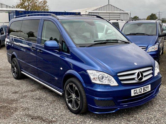 2012 12 MERCEDES-BENZ VITO 3.0 V6 122 CDI DUALINER AUTO 224 BHP