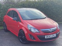 USED 2013 63 VAUXHALL CORSA 1.2 LIMITED EDITION 3d 83 BHP CONTRASTING BLACK ROOF