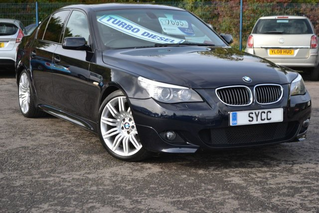 USED 2009 58 BMW 5 SERIES 3.0 530D M SPORT 4d 232 BHP ~ SAT NAV ~ HEATED SEATS ~ 2 KEYS ~ 6 MONTHS WARRANTY WITH FREE BREAKDOWN COVER