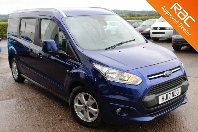 USED 2017 17 FORD GRAND TOURNEO CONNECT 1.5 TITANIUM TDCI 5d 118 BHP £30.00 ROAD FUND LICENCE 12 MONTHS